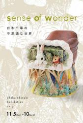 sense of wonder 白木千華の不思議な世界 11.05-11.10