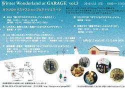 Winter Wonderland at GARAGE VOL.3 フライヤー