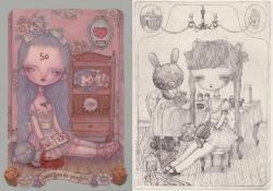 Karte 個展 『maison de poupée』