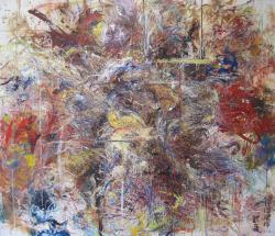 柿沼瑞輝 《歓喜》 oil on canvas
