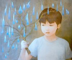 石庭美和 個展 「浄火」
