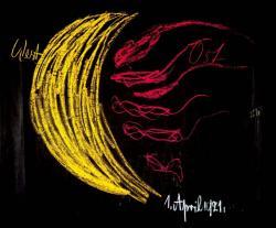 黒板ドローイング<月と地球>1921年4月1日の講義より