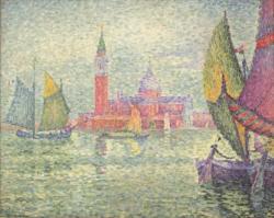 ポール・シニャック《ヴェネツィア》 1908年 アサヒビール大山崎山荘美術館所蔵