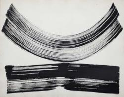インク、紙 57.4 x 44.1 cm 1969 年頃 [Yoshimi Arts 出品作品]