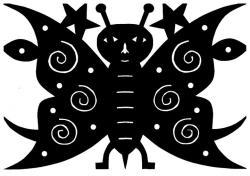 "Jad Fair ""Smiling Butterfly"""