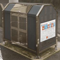 「箱」 1303x1303mm(S60) 油彩 白亜地 パネル
