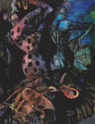 油彩画『ラ・カーニャ』1968