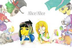 森島里香+松本しろう 二人展 『Alice/Alice』 (Black bird White bird)
