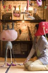 アートスペース油亀企画展 スサイタカコ展  「ポンポコピーピーどこいくの クリスマスって なにそれたべもの??」