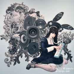 "宮本京香(Kyoko Miyamoto)  ""発信の理 Ver.comodo"""