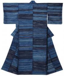 志村ふくみ 《秋霞》1959年 絹釉、草木染・手織 京都国立近代美術館 [前期展示]