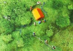 drone miniature photo 小林キユウ