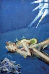 小西紀行 「無題」2014年 キャンバスに油彩 h.194.0 x w.130.3cm