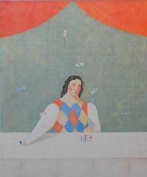 MAGIC より:占いの部屋 リトグラフ 1981 年 エディション81