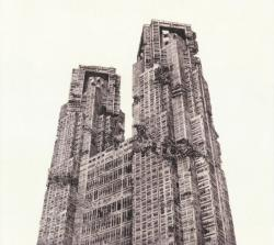 Indication-Tokyo Metropolitan Government Building, 2013年, 40×46.5cm , リトグラフ