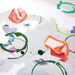 Still Life / Press #1 2019   キャンバスにアクリル絵具 / 93 x 93cm