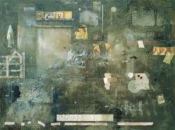 麻田浩《蕩児の帰宅(トリプティックのための)》1988年 油彩・キャンバス 個人蔵
