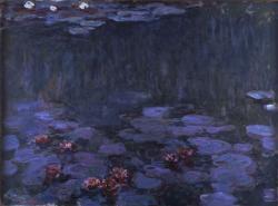 クロード・モネ《睡蓮》 1914-17年 油彩 150.5×200.0cm 当館蔵