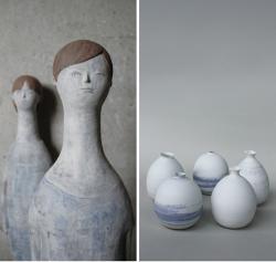 左:樫田奈津美 作品/右:林莉紗 作品