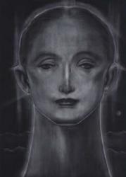 「遠い月」メゾチント 2013 年