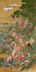 五百羅漢図のうち第29幅 六道 畜生 江戸時代19世紀 増上寺 (前期展示)