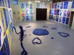 個展「世界は愛の集合体だから」展示風景。ギャラリーコエグジスト、2010