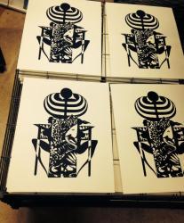 CHAIRS -椅子と自然と祈りー シルクスクリーン版画展
