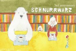 3周年 anniversary at にじ画廊(Cafe SchnurrWarz )