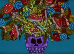 髑髏(sarecoube)-世にも素敵なスカ ル-(乙画廊 2013/1/15-26)
