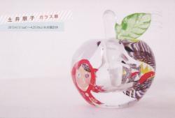 土井朋子 ガラス展(もえぎ本展 2013/4/13-25)
