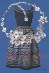 Dress and Jewelly vol.3 辻淳子展 (アートギャラリー絵の具箱 2013/7/30-8/4)
