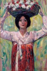 藤島武二 《花籠》 1913年 京都国立近代美術館蔵
