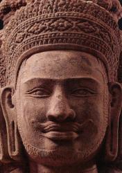 アンコール・ワットへのみち 神々の彫像