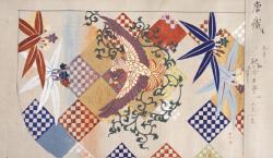 狩野芳崖《加州家蔵能装束模様》1887(明治20)年