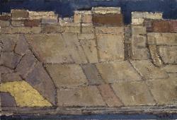 鳥海青児《石だたみ( 印度ベナレス)》1962 年、平塚市美術館蔵
