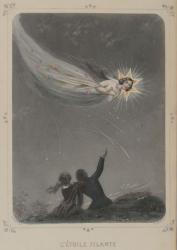 『星々』(1849 年)より《流れ星》