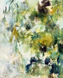 「退屈の森」 2017 油彩, カンヴァス 652×530mm