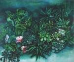 みどりの花のある風景,2013