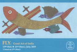 FLY. Gond Art of India