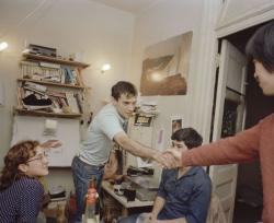 1983, New York, My Apartment Living Room in Manhattan「PHOTO-BOY 1979-1988 MY ROSE PERIOD IN AMERICA」©︎Akiyoshi Taniguchi