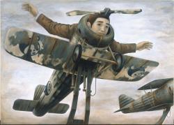 飛べなくなった人(1996年) 静岡県立美術館蔵