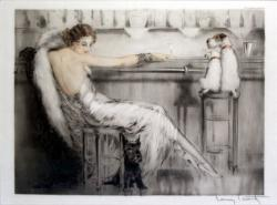『カクテル』 1932年  ◎Louis Icart Le Cocktail