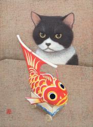 「猫に鯛」F4