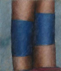 辰野登恵子《Sept-10-2000》2000年 油彩・キャンバス ※前期出品 ©辰野剛、平出利恵子