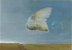 《冬至》 1977 年 つなぎ美術館蔵