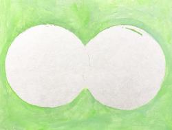 チョ セイブン  2021  18.0×14.0㎝ キャンバスにアクリル絵具