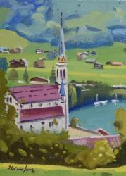 「鐘の鳴る村(スイス)」F4