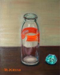 瓶の肖像 牛乳瓶
