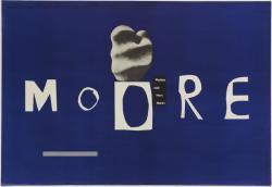 ヘンリク・トマシェフスキ《ヘンリー・ムーア作品展覧会》1959年  神奈川県立近代美術館蔵 ©市瀬真以