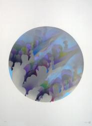 《ルゥーパ、降り注ぐものの》B 2013 油彩、紙 76.5x56.5cm